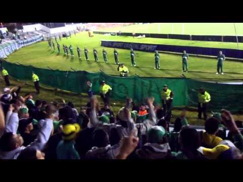"""""""Nacion Verdolaga en Tunja Patriotas 1 - Nacional 0"""" Barra: Nación Verdolaga • Club: Atlético Nacional"""
