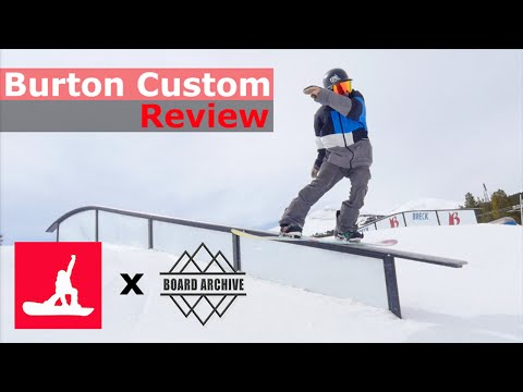 Burton Custom Flying V Snowboard Review