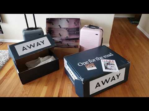 Away suitcase review – + $20 OFF – a luggage that can charge your phone!