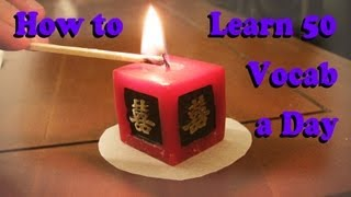 How to Learn 50 Vocab a Day [HD]