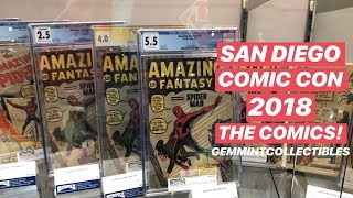 San Diego Comic Con 2018: The Comics!