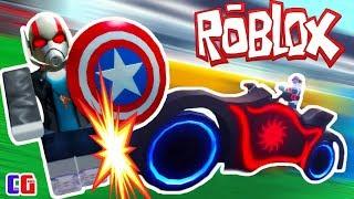 Угнал БАЙК Человека ПАУКА и Победил КАПИТАНА АМЕРИКУ! Супергеройский Тайкон в Roblox от Cool GAMES