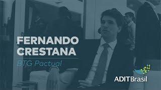 Fernando Crestana (BTG Pactual) comenta a tecnologia no setor imobiliário