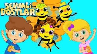 Arı Vız Vız Vız Ve Sevimli Dostlar Ile 45 Dakika Çocuk Şarkıları | Kids Songs And Nursery Rhymes