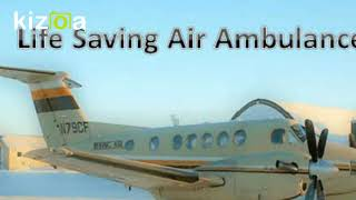 Avail Advanced Medical Support Air Ambulance Service in Bagdogra