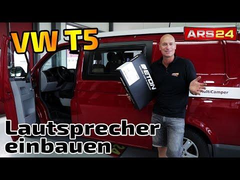 Lautsprecher im VW T5 austauschen   Eton UG VW T5 F3.1   große Klangsteigerung   ARS24