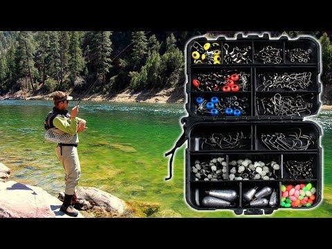 SET de accesorios para la pesca con señuelos / ZANLURE 177pcs