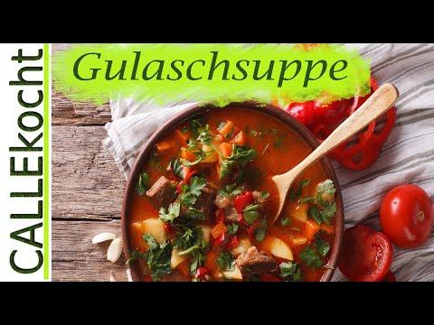Gulaschsuppe selber machen - Nach Omas Rezept kochen