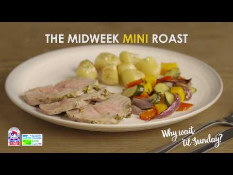 Mini Roast Lamb with rosemary butter