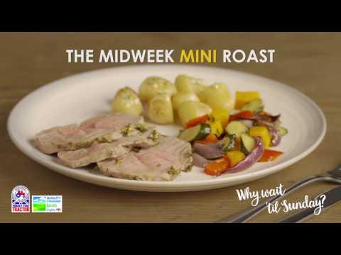 Mini Roast Lamb with rosemary butter