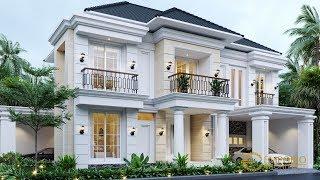 Video Desain Rumah Classic 2 Lantai Ibu Menik di  Jatibening, Bekasi