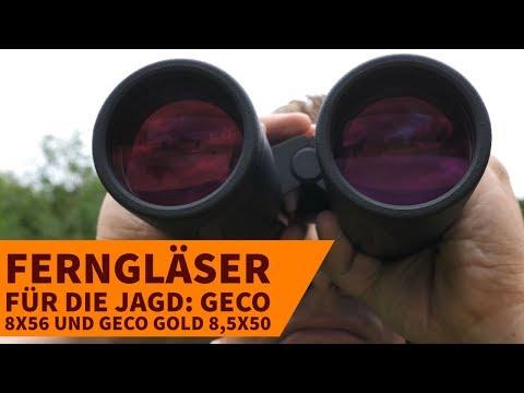 geco: Test: GECO 8x56 und GECO Gold 8,5x50 Ferngläser für die Jagd im Vergleich