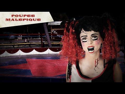 Tuto maquillage Halloween : la poupée maléfique