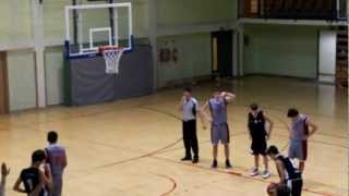 preview picture of video 'KK Krapina - KK Rudeš II kadeti 2. poluvrijeme 91-62'