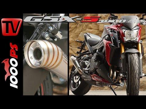 Suzuki GSX-S1000 - Zubehörteile + Soundcheck Yoshimura GP