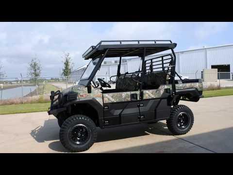 2018 Kawasaki Mule PRO-FXT EPS CAMO in La Marque, Texas