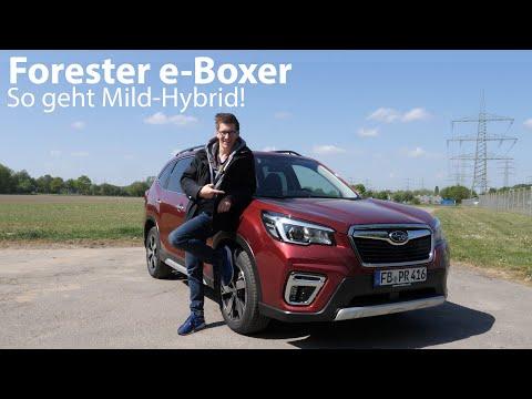 2020 Subaru Forester e-Boxer Test / Fast auf dem Niveau eines Voll-Hybriden [4K] - Autophorie