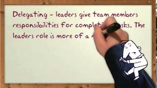Leadership - Situational Leadership Theory