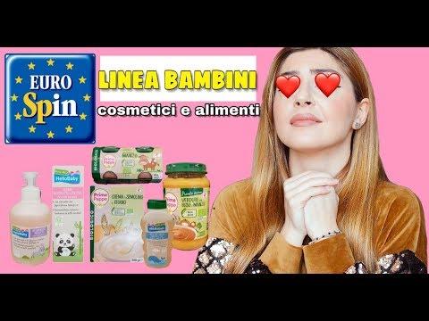 ADORO ❤️ la LINEA BABY EUROSPIN! Recensione cosmetici e alimenti per bambini bio da supermercato