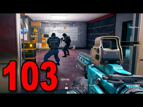 Rainbow Six Siege - Part 103 - 17 KILL GAME