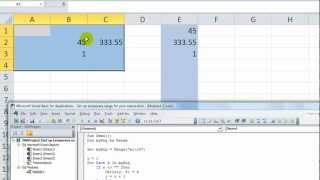 Excel VBA Tips n Tricks #5 Fill a List From Non-Blank Cells - Going Down OR Over
