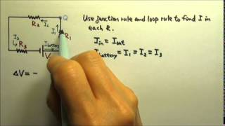 Circuits : Kirchhoff's Rules for Simple Circuits 2