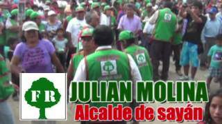 Julian Molina Alcalde de Sayán