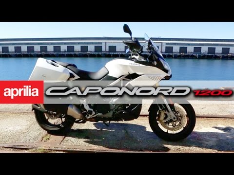 Aprilia Caponord 1200 ABS - MotoGeo Review
