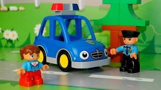 Видео для самых маленьких с игрушками - Профессии для детей.