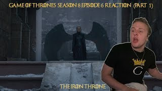 "Game of Thrones 8x06 ""The Iron Throne"" reaction (PART 1)"