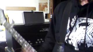 D.R.I All For Nothing Guitar Cover