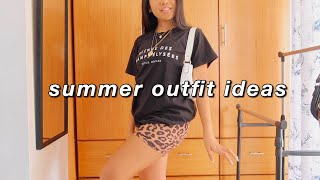 CASUAL SUMMER OUTFIT IDEAS | Styling Basics