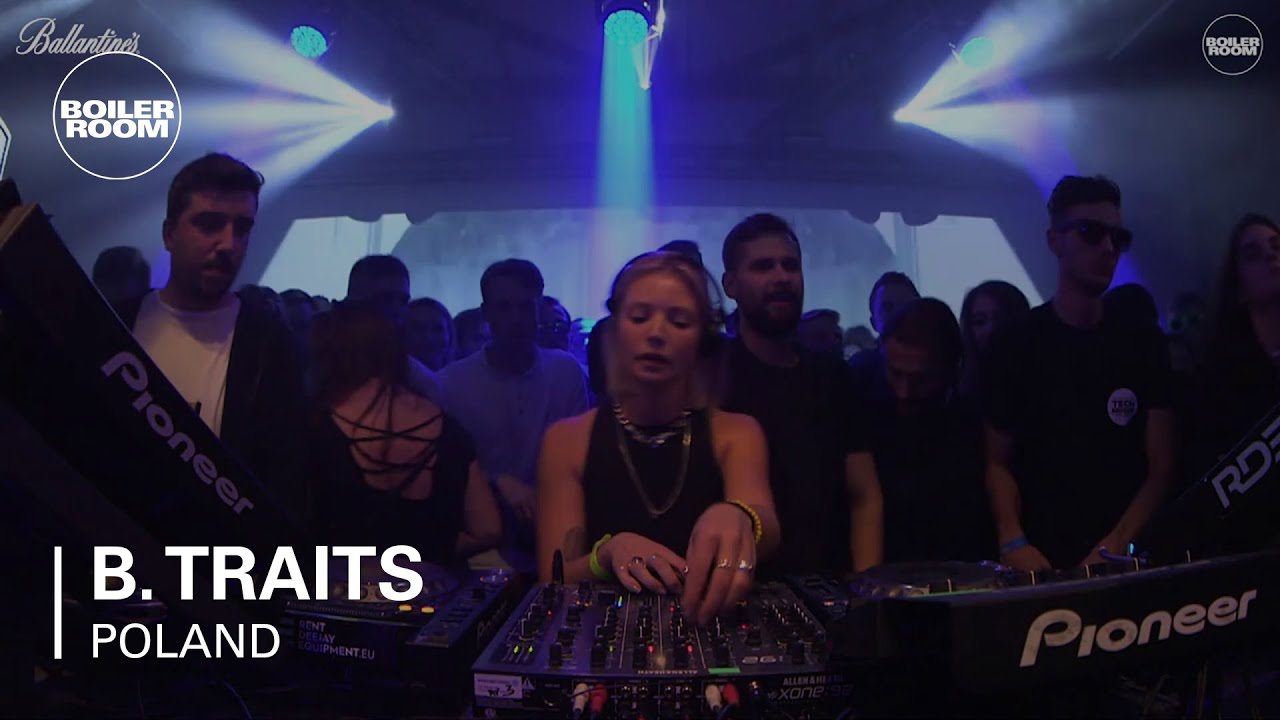 B.Traits - Live @ Boiler Room & Ballantine's True Music Poland 2017