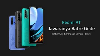 Spesifikasi dan Harga Xiaomi Redmi 9T, Dibekali Baterai 6.000 mAh hingga Chipset Snapdragon 662