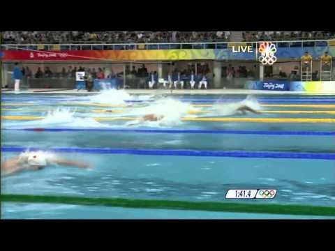 Men's 4x100 freestyle relay beijing 2008 HD