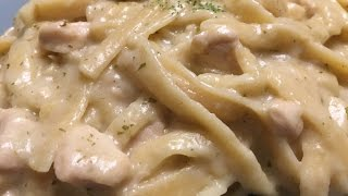 Instant Pot Chicken Fettuccini Alfredo  |  Easy Delicious Recipes