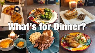 What's for Dinner?| Family Meal Ideas| August 20-26, 2018