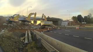B800 Bridge Demolition Part 1