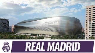 The future Santiago Bernabéu stadium ⚽️