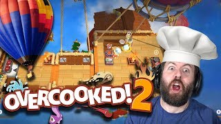 COOKING ON HIGH | Overcooked! 2 Part 3