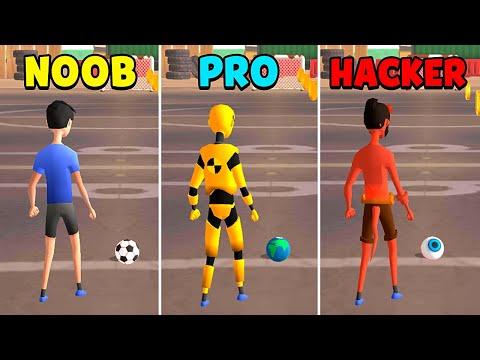 NOOB vs PRO vs HACKER - Flick Goal!