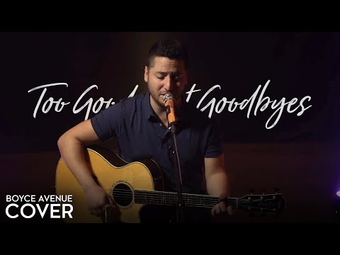 Too Good at Goodbyes Sam Smith Acoustic Cover