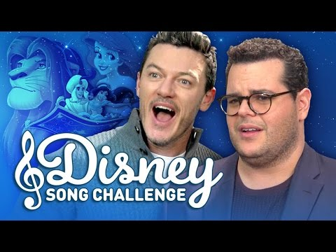 Disney Song Challenge with Josh Gad and Luke Evans
