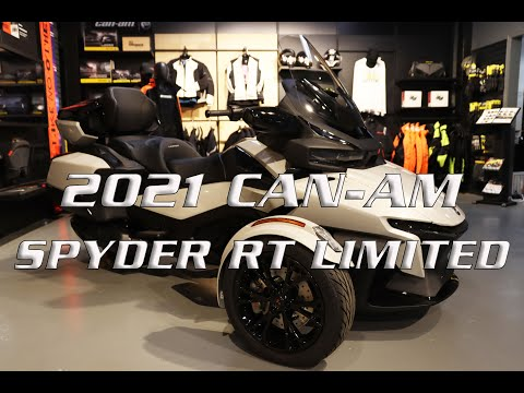 2021 Can-Am Spyder RT Limited in Enfield, Connecticut - Video 1