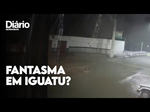 """Vídeo mostra mulher """"desaparecendo"""" em rua"""