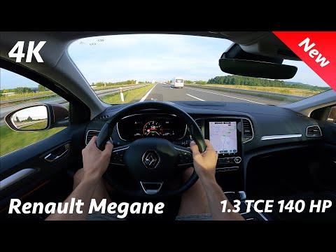 Renault Megane 2021 - POV Test drive in 4K | 1.3 TCE - 140 HP, 7-speed EDC (Croatian Autobahn)
