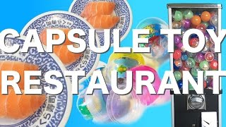 Capsule Toy Sushi Restaurant