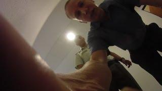 preview picture of video 'Prezident SR Ivan Gašparovič a Jana Vaľová - primátorka mesta Humenné - incident - kamera č. 1'