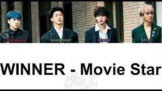 WINNER - Movie Star (Color Coded Lyrics   - YouTube