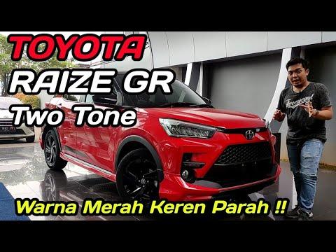 Review Toyota Raize GR Two tone